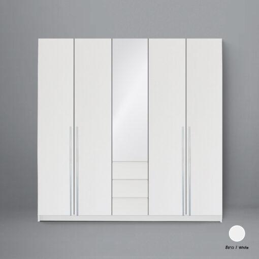 ตู้เสื้อผ้า Theme new_white_