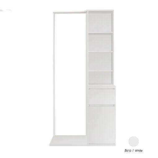 โต๊ะแป้ง รุ่น THEME สีขาว