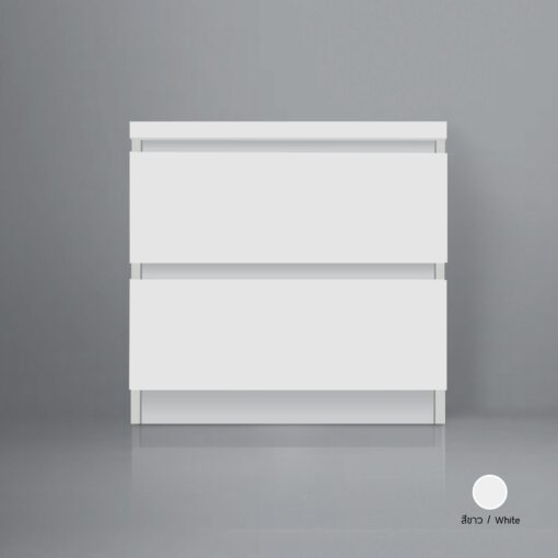ตู้ข้างเตียง flower สี white theroom