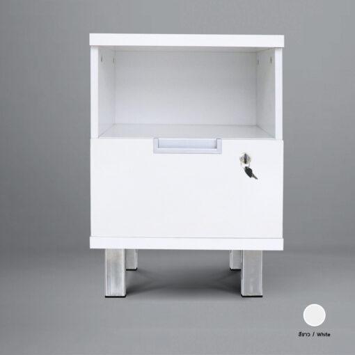 ตู้ข้างเตียง renew_white_theroom_