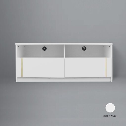 Sideboard Basic สีขาว