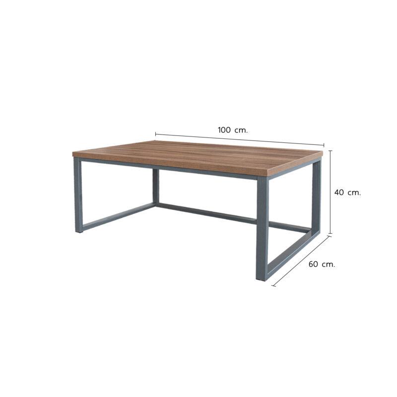 ขนาดโต๊ะกลาง รุ่น PLAN