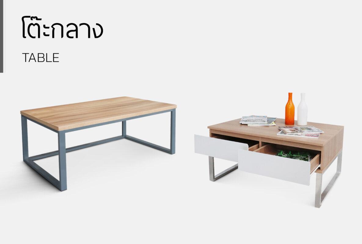 หมวดหมู่ โต๊ะกลาง
