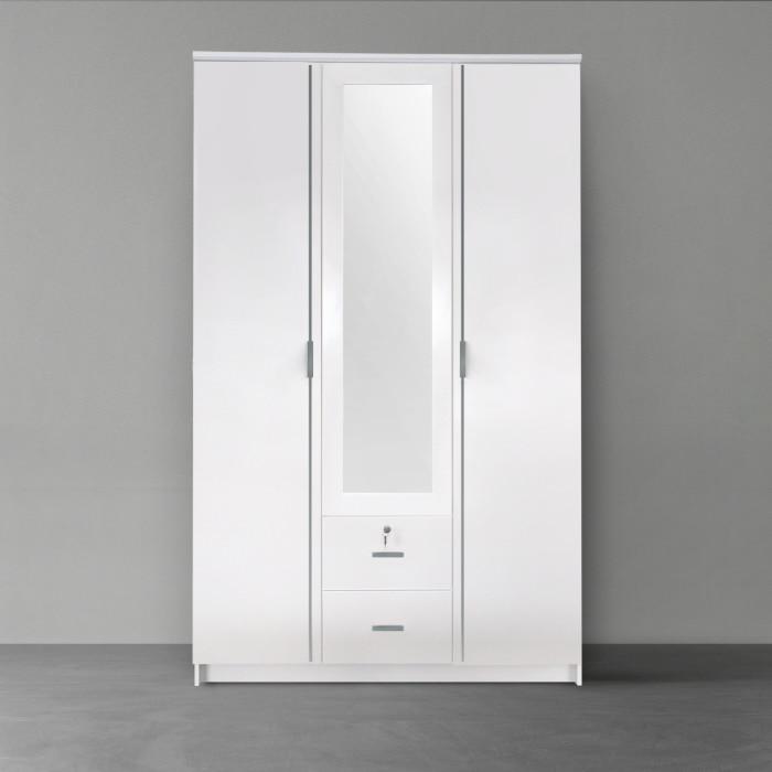 ตู้เสื้อผ้า รุ่น SURF สีขาว